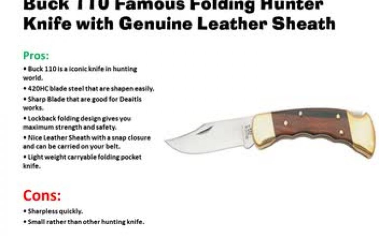 Top Picks Hunting Knife 2017 Hunting knife Review and Buying Guide